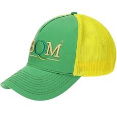Boné Verde Bordado em Alta Definição com Tela Amarela - ABQM de2ff146bed