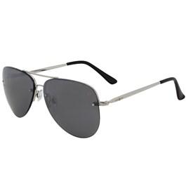 Óculos Aviador Cow Way Armação Prata 19498