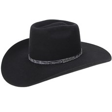 Chapéu Country de Feltro Aba Larga Texas Diamond Castor 20999 ... f358b95078d