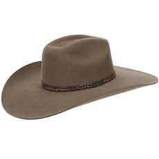Chapéu de Feltro Copa Quadrada Aba Larga Texas Diamond 21023 09d46e4abe1