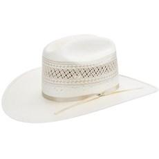 Chapéu Branco de Palha Shantung 20X Ventilada Texas Diamond 21424 f95751c3011