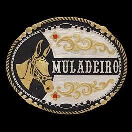 Fivela Muladeiro Oval Pelegrini 22540