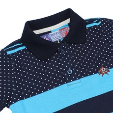 Polo Infantil Masculina Branca Listrada Rodeo Western 22594 - Rodeo West 1bfdbc043f9