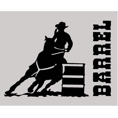 Adesivo Barrel - Rodeo West 14024