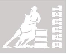 Adesivo Barrel - Rodeo West 14025