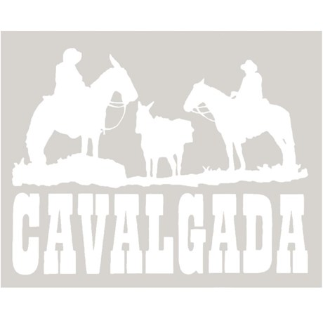 Adesivo Cavalgada - Rodeo West 14009