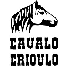 Adesivo Cavalo Crioulo - Rodeo West 15462