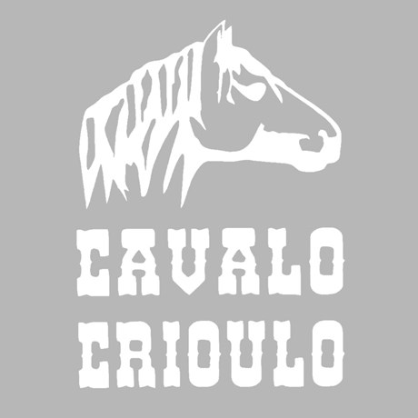 Adesivo Cavalo Crioulo - Rodeo West 15463