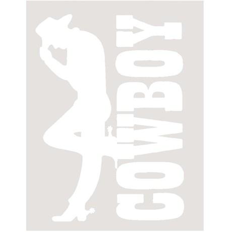 Adesivo Cowboy - Rodeo West 13995