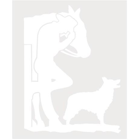 Adesivo Cowboy - Rodeo West 14005