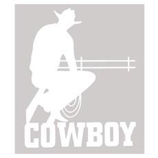 Adesivo Cowboy - Rodeo West 14041