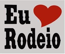 Adesivo Eu Amo Rodeio - Rodeo West 14038
