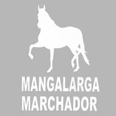 Adesivo Mangalarga Marchador - Rodeo West 14987