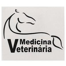 Adesivo Medicina Veterinária - Rodeo West 13986