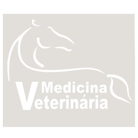 Adesivo Medicina Veterinária - Rodeo West 13987