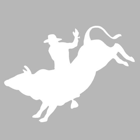 Adesivo Montaria em Touro - Rodeo West 15465