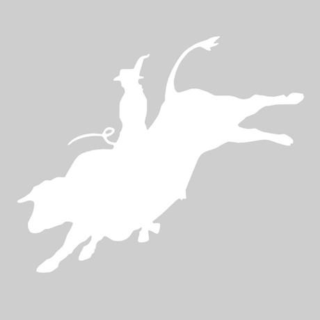 Adesivo Montaria em Touro - Rodeo West 17364