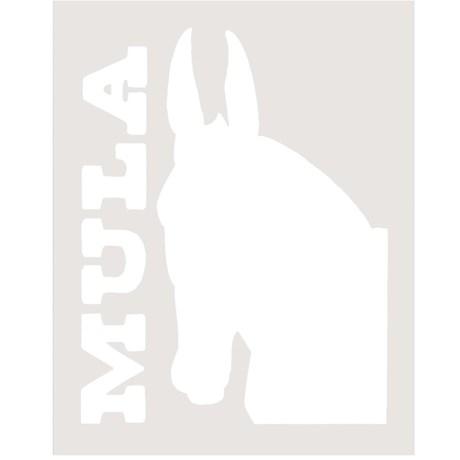 Adesivo Mula - Rodeo West 13999