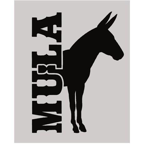 Adesivo Mula - Rodeo West 14036