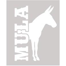 Adesivo Mula - Rodeo West 14037