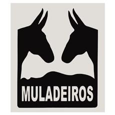 Adesivo Muladeiros - Rodeo West 14000