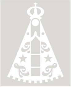 Adesivo Nossa Senhora Aparecida - Rodeo West 14007