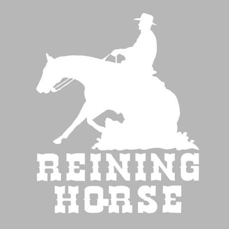 Adesivo Reining Horse - Rodeo West 14983