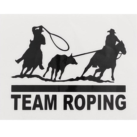 Adesivo Team Roping - Rodeo West 13984