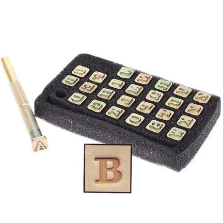 Alfabeto Tandy Leather 1/4'' 4903-01
