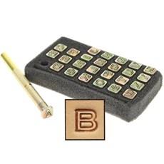 Alfabeto Tandy Leather 1/4'' 4909-00