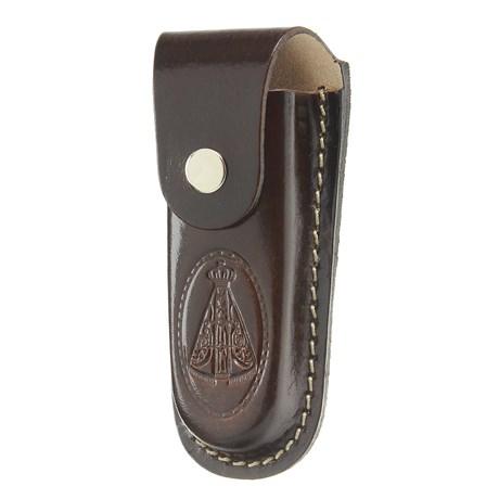 Bainha para Canivete Grande em Couro Nossa Senhora Aparecida Rodeo West 29299