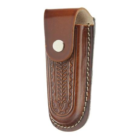 Bainha para Canivete Grande em Couro Rodeo West 29292