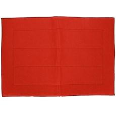 Baixeiro de Sisal e Carpete Vermelho - Bronc-Steel 18686