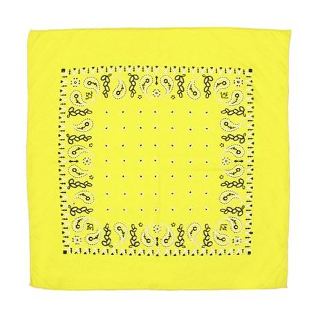 Bandana Amarela Estampada Rodeo West 30121