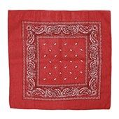 Bandana Vermelha Estampada - Rodeo West 19054