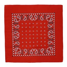 Bandana Vermelha Rodeo West Estampada 21704