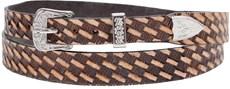 Bandinha para Chapéu Fabricada em Couro Bordado - Pyramid Country 17499