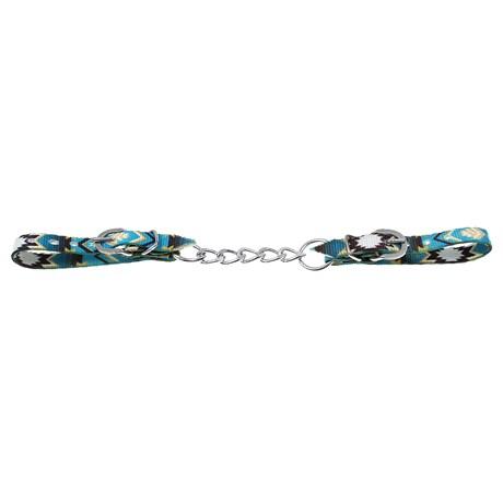 Barbela de Freio Estampada Azul Corrente Simples 28886