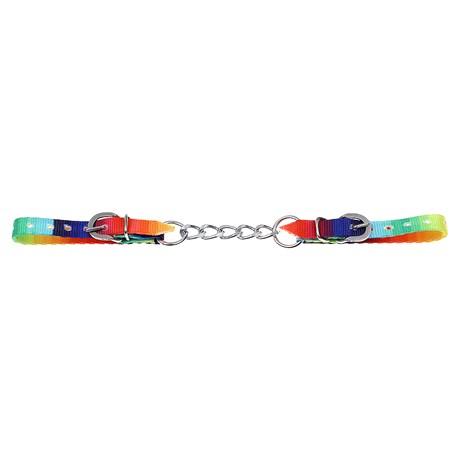 Barbela de Freio Estampada Colorida Corrente Simples 28888