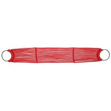 Barrigueira 22 Fios com Argolas EV Montaria Vermelha 22458