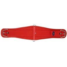 Barrigueira para Cavalo Larga 32'' Vermelha Fabricada em Neoprene - Equitech 18259