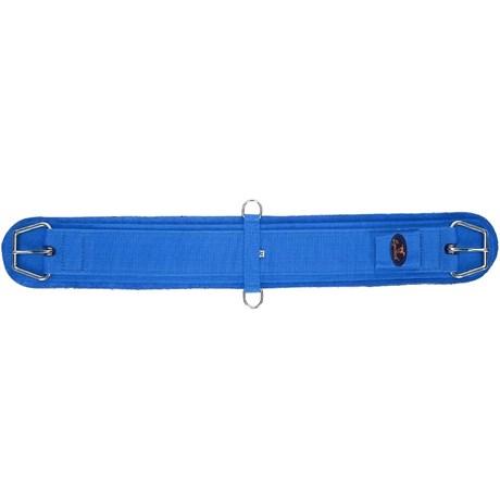 Barrigueira para Cavalo Reta 32'' Azul Fabricada em Neoprene - Equitech 18258