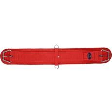 Barrigueira para Cavalo Reta 32'' Vermelha Fabricada em Neoprene - Equitech 18260