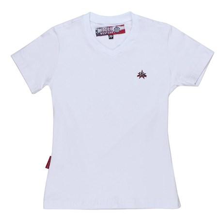 Blusa Branca Feminina Rodeo Western 24717