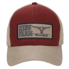Boné Aba Curva Snapback King Farm 23519