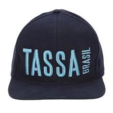 Boné Aba Reta Azul Marinho Bordado em Alta Definição - Tassa 17179