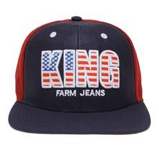 Boné Aba Reta de Tela King Farm 26254