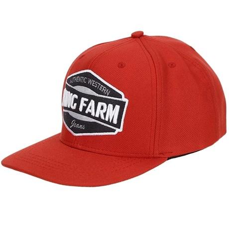 13755c13da0b4 Boné Aba Reta King Farm Vermelho 19891 - Rodeo West