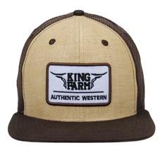 Boné Aba Reta Strapback King Farm 23770
