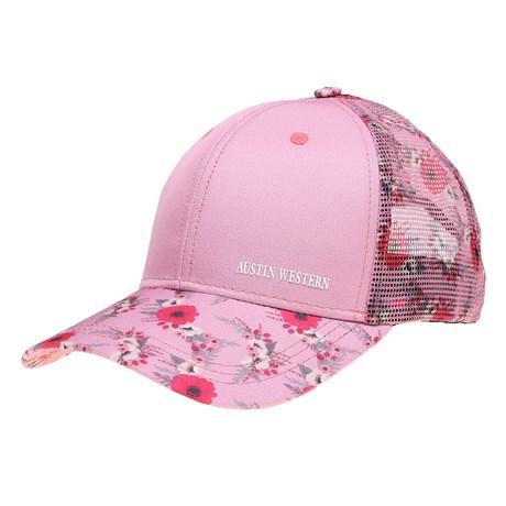Boné Austin Western Rosa Florido 26689
